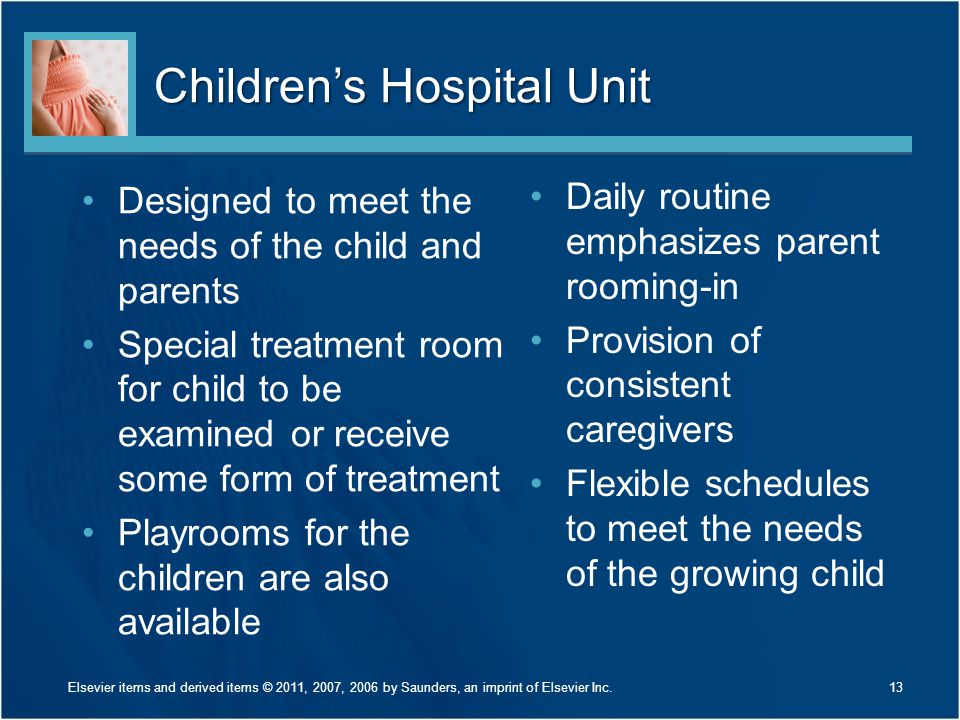 Children's Hospital Unit
