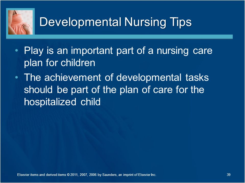 Developmental Nursing Tips