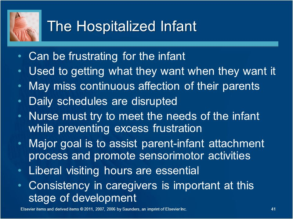 The Hospitalized Infant