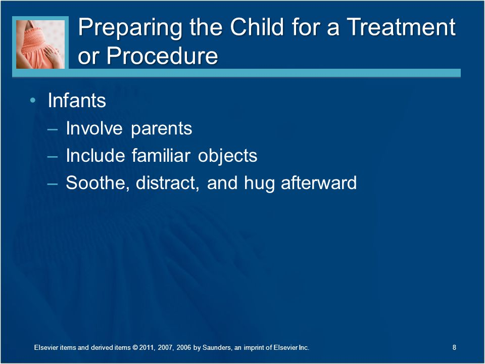 Preparing the Child for a Treatment or Procedure