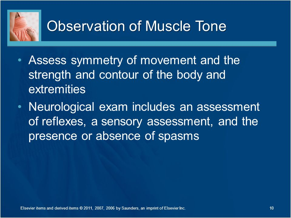 Observation of Muscle Tone