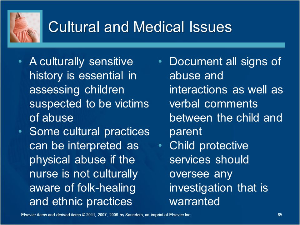 Cultural and Medical Issues