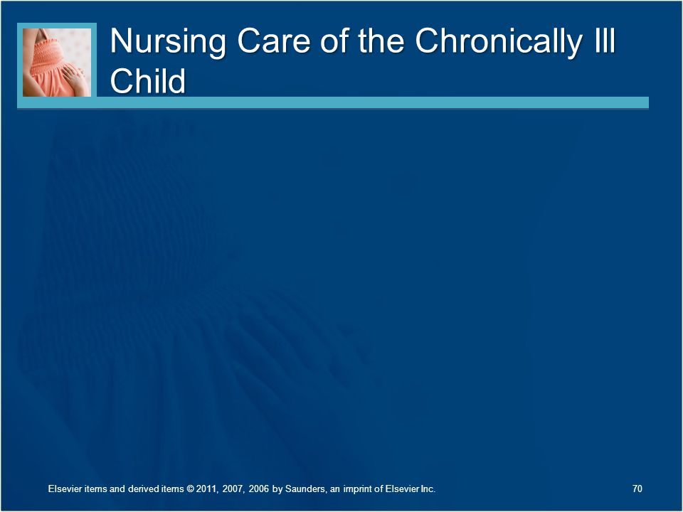 Nursing Care of the Chronically Ill Child