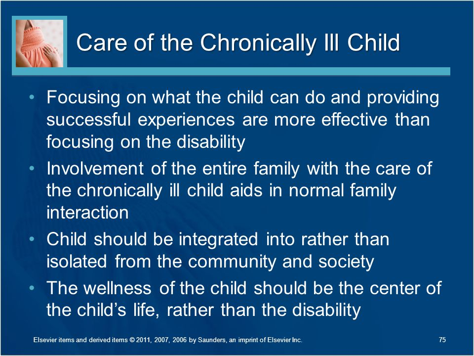 Care of the Chronically Ill Child