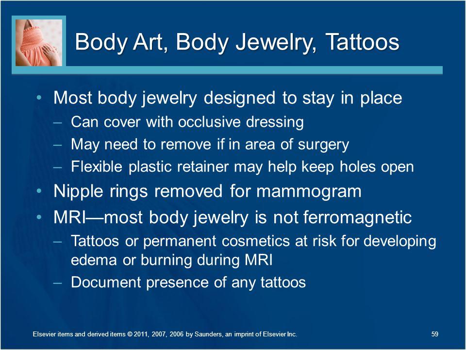 Body Art, Body Jewelry, Tattoos