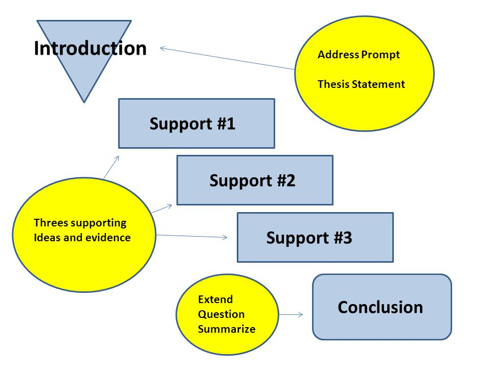 Introduction Support #1 Support #2 Support #3 Conclusion