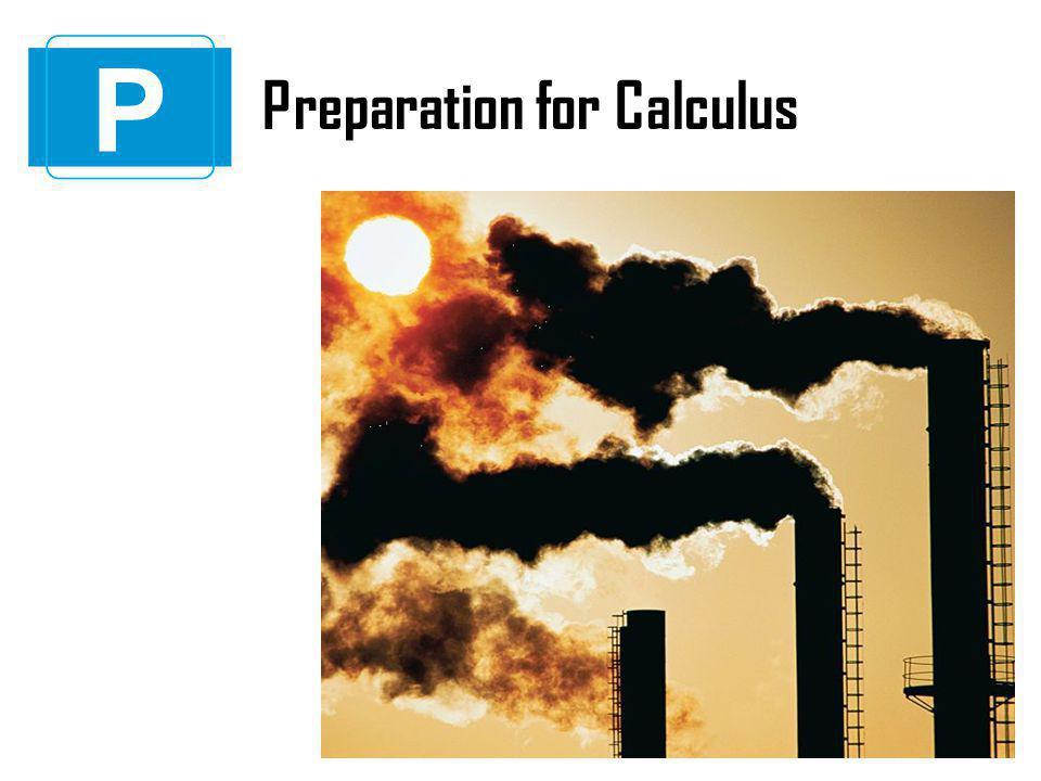 P Preparation for Calculus