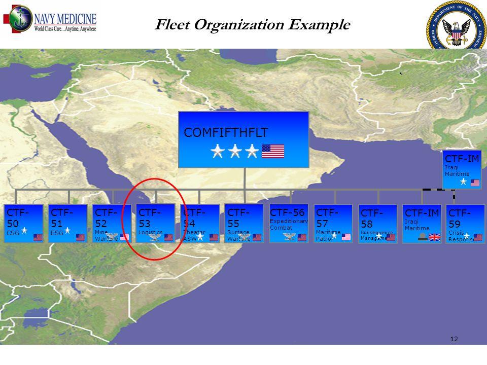 Fleet Organization Example