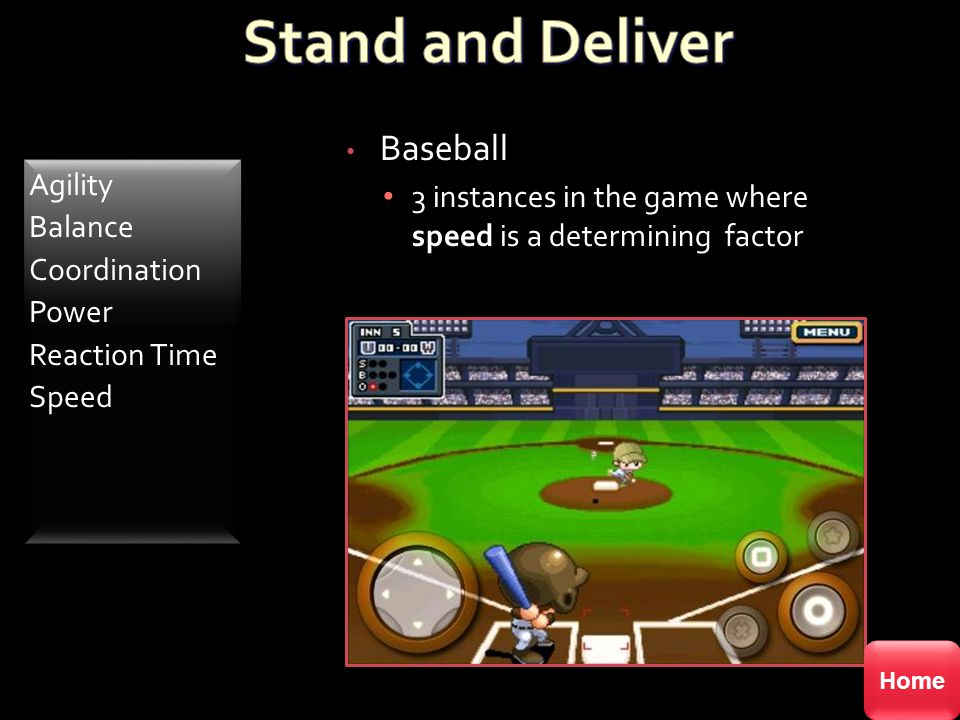 Stand and Deliver Baseball