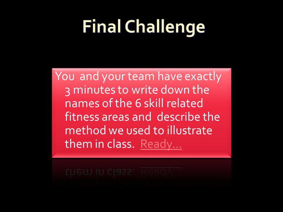 Final Challenge