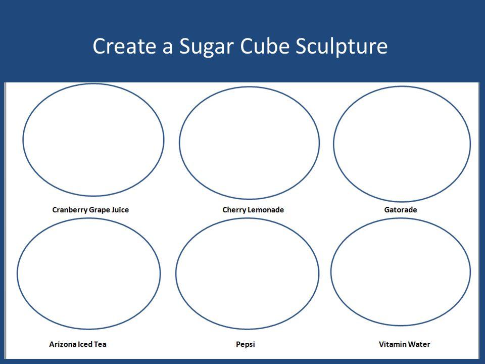 Create a Sugar Cube Sculpture