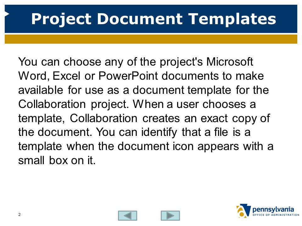 how to make document for project