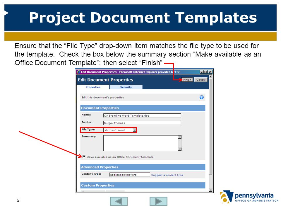 Project Document Templates
