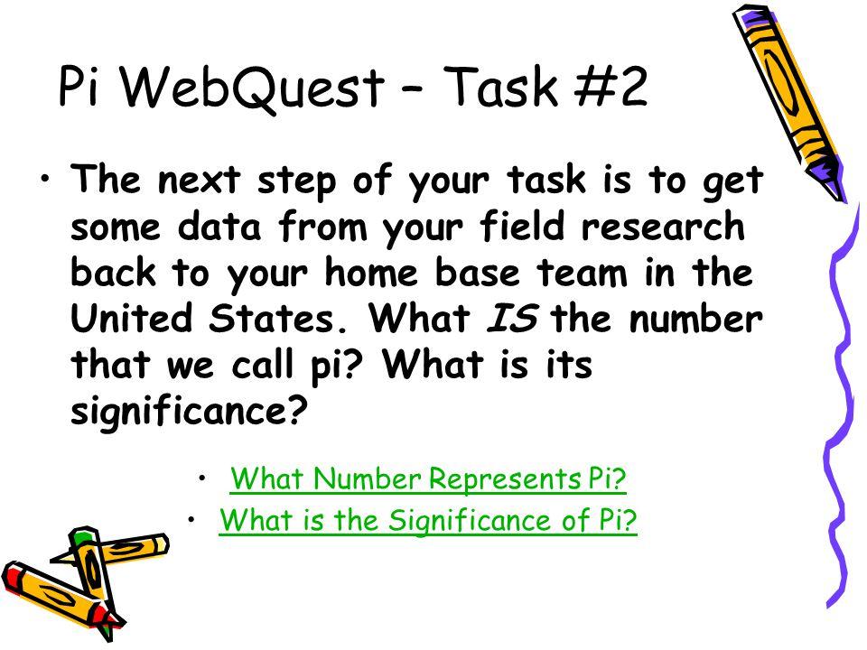 Pi WebQuest – Task #2