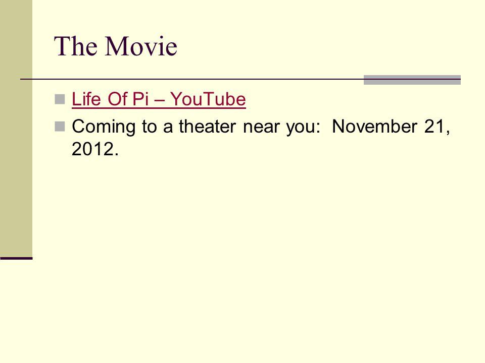 The Movie Life Of Pi – YouTube