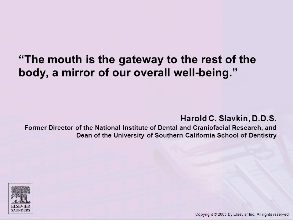The mouth is the gateway to the rest of the body, a mirror of our overall well-being.