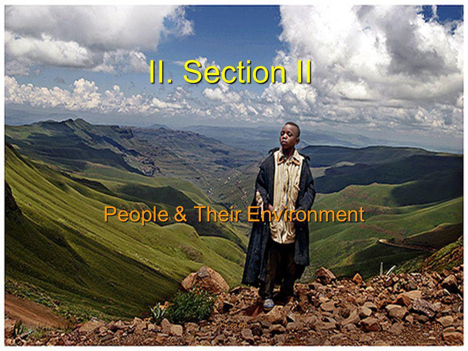 People & Their Environment