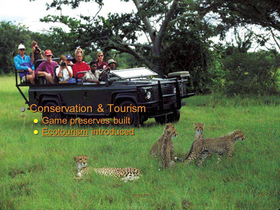 Conservation & Tourism