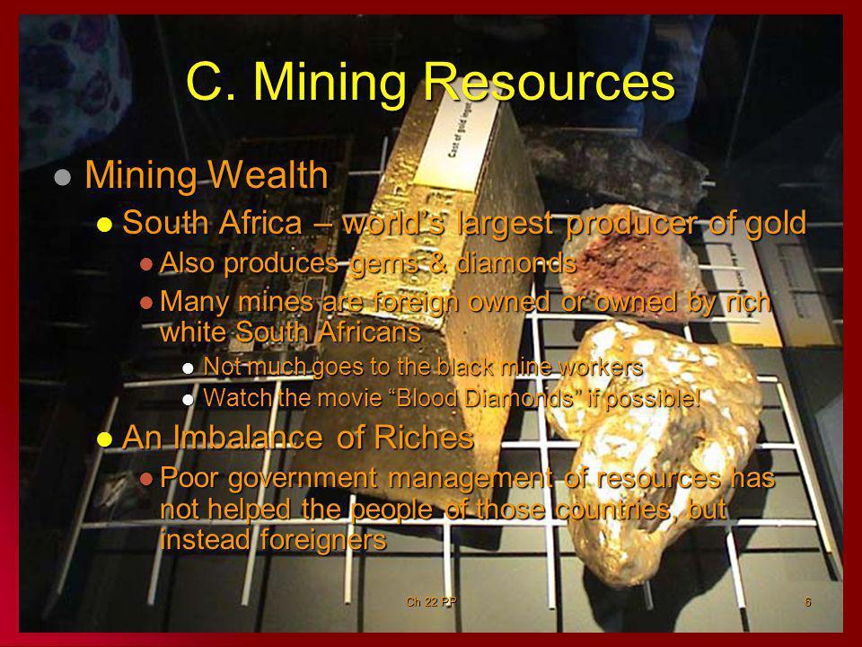 C. Mining Resources Mining Wealth