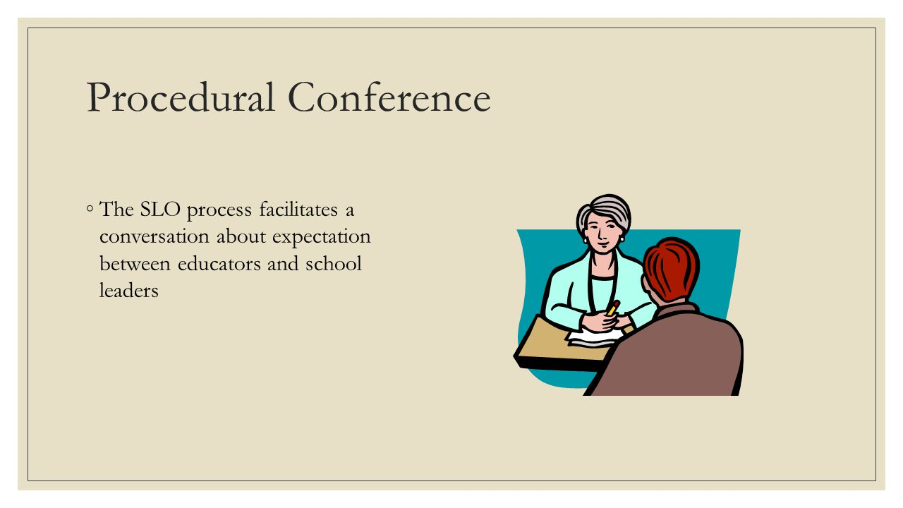 Procedural Conference
