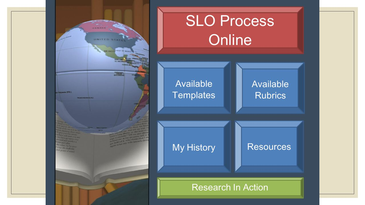 SLO Process Templates Resources My History Research In Action Online