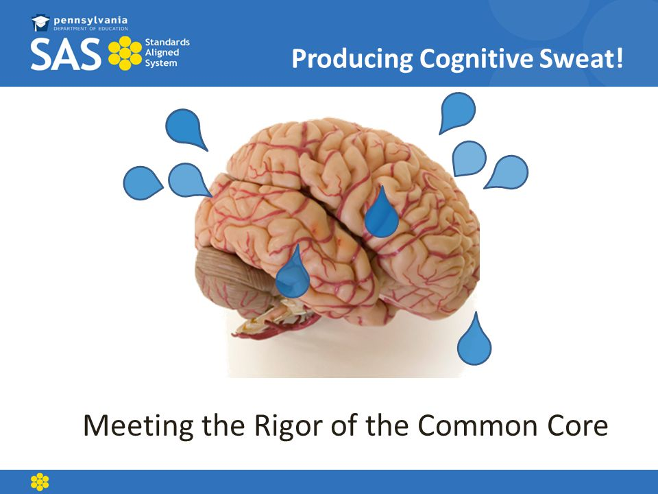 Producing Cognitive Sweat!