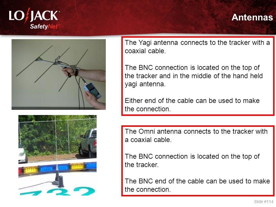Positioning of the Omni-Directional Antenna