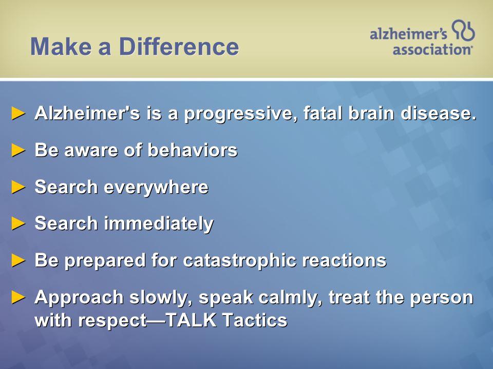 ALZHEIMER'S VIDEO 72