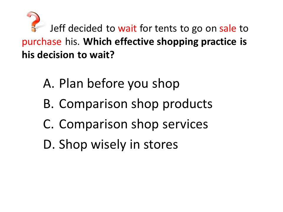 Comparison shop products Comparison shop services