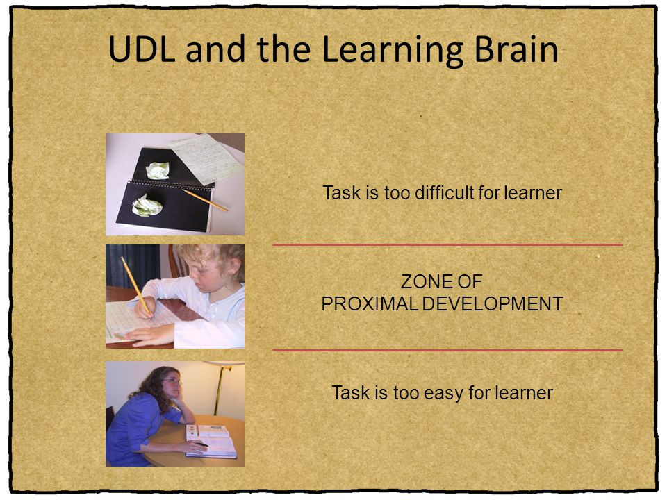 UDL and the Learning Brain