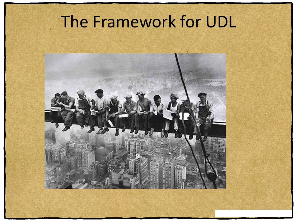 The Framework for UDL Overview: This section presents the three principles of UDL and new assumptions about UDL.