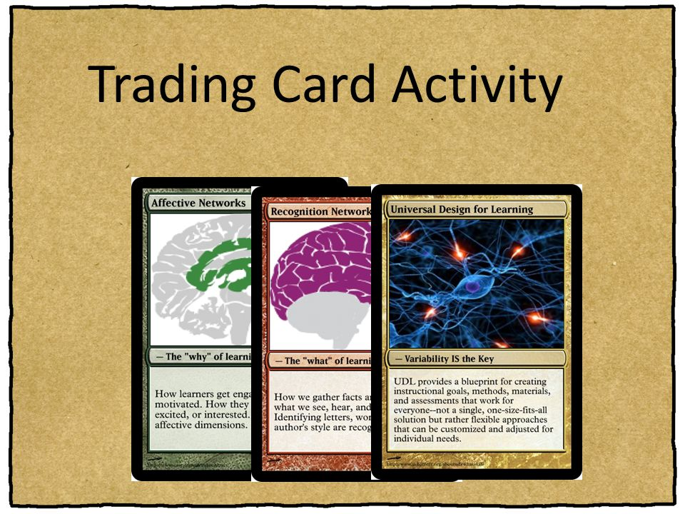 Trading Card Activity