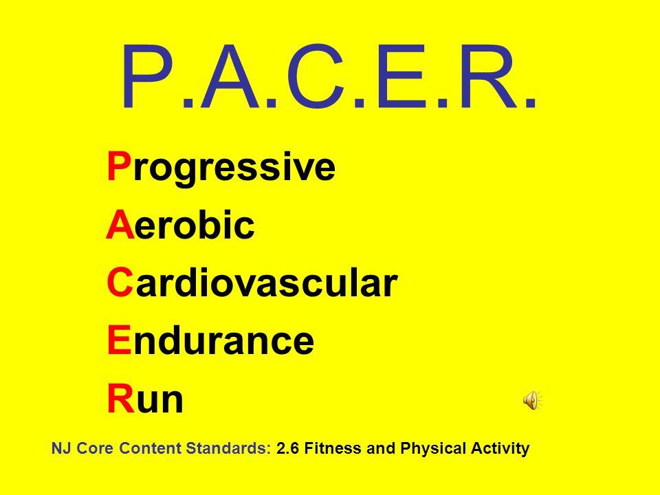 Progressive Aerobic Cardiovascular Endurance Run