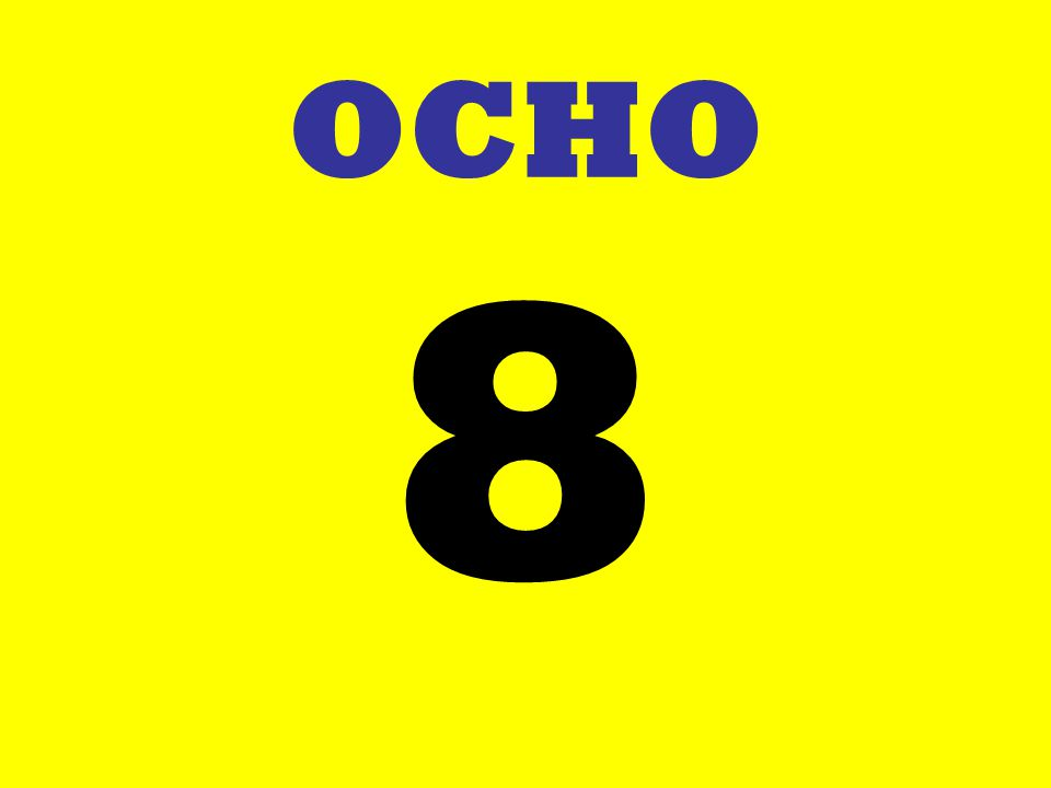 OCHO 8