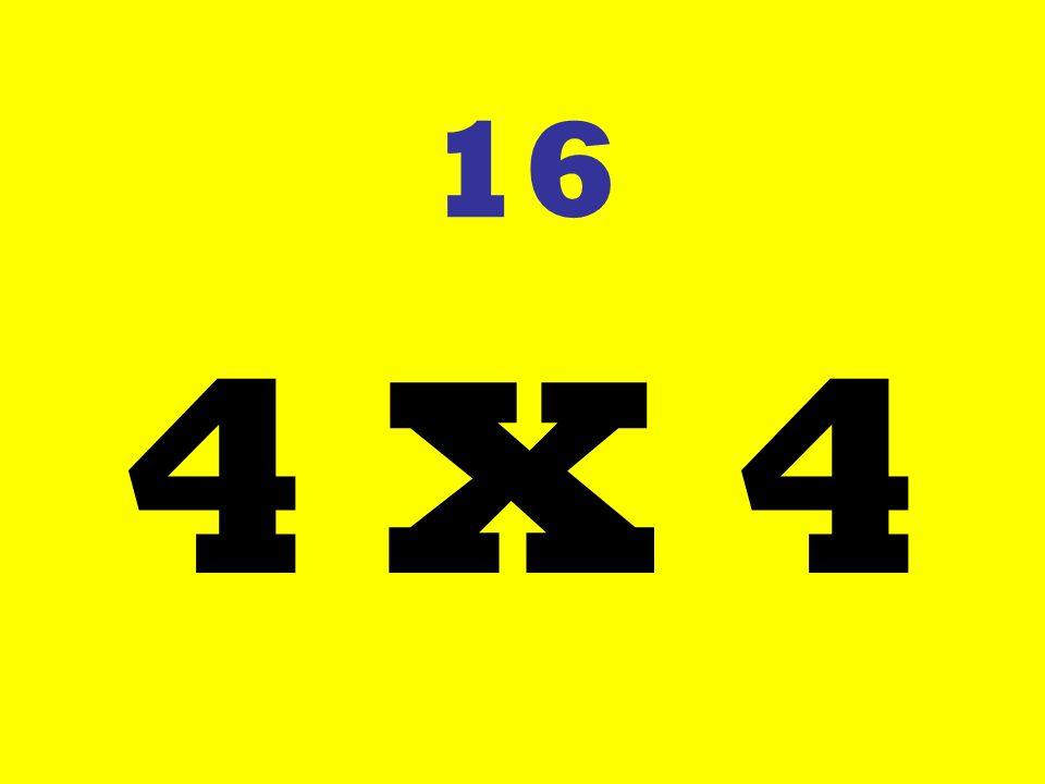 16 4 X 4
