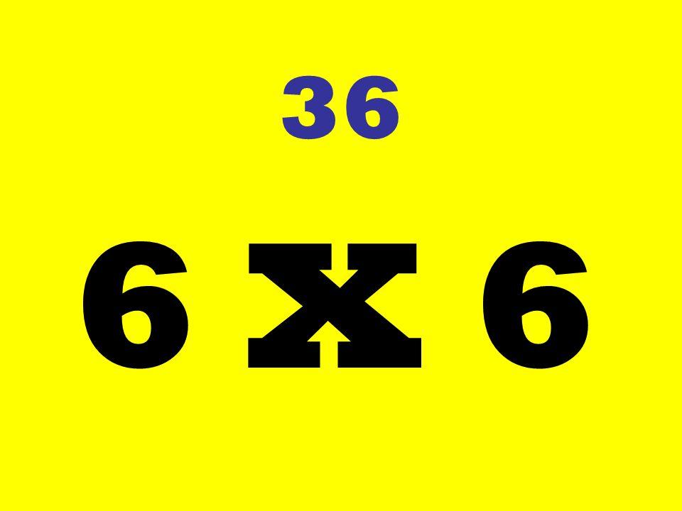 36 6 X 6