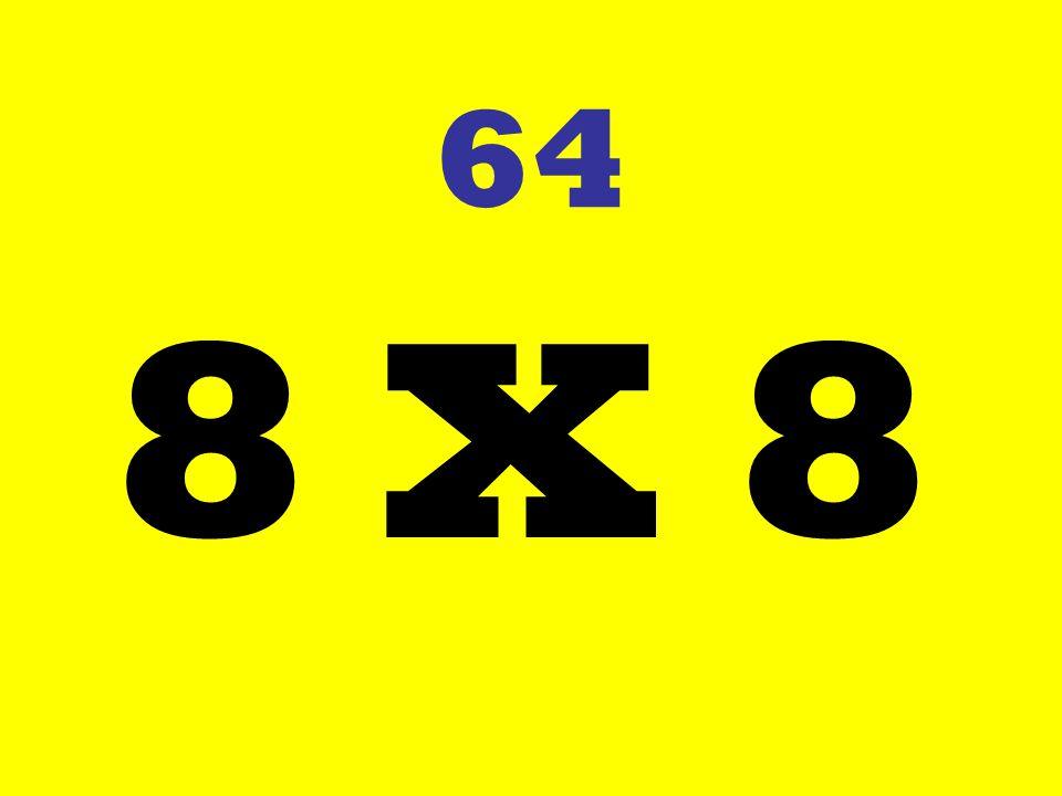 64 8 X 8