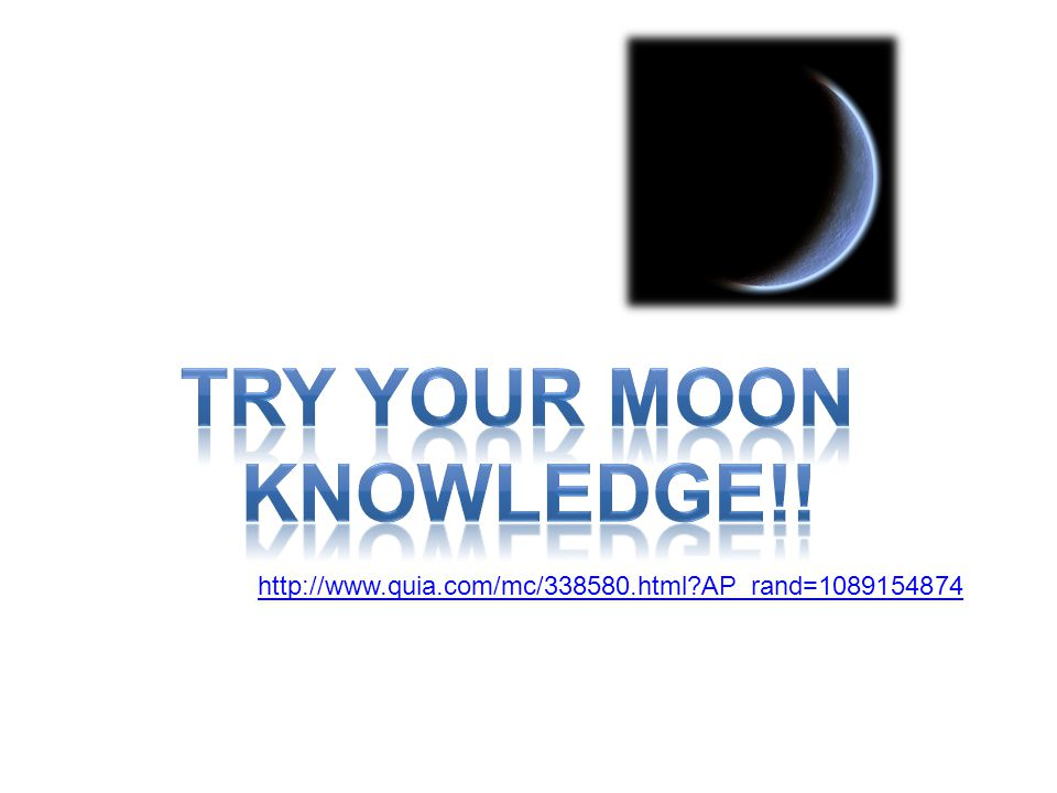 Try your moon Knowledge!!