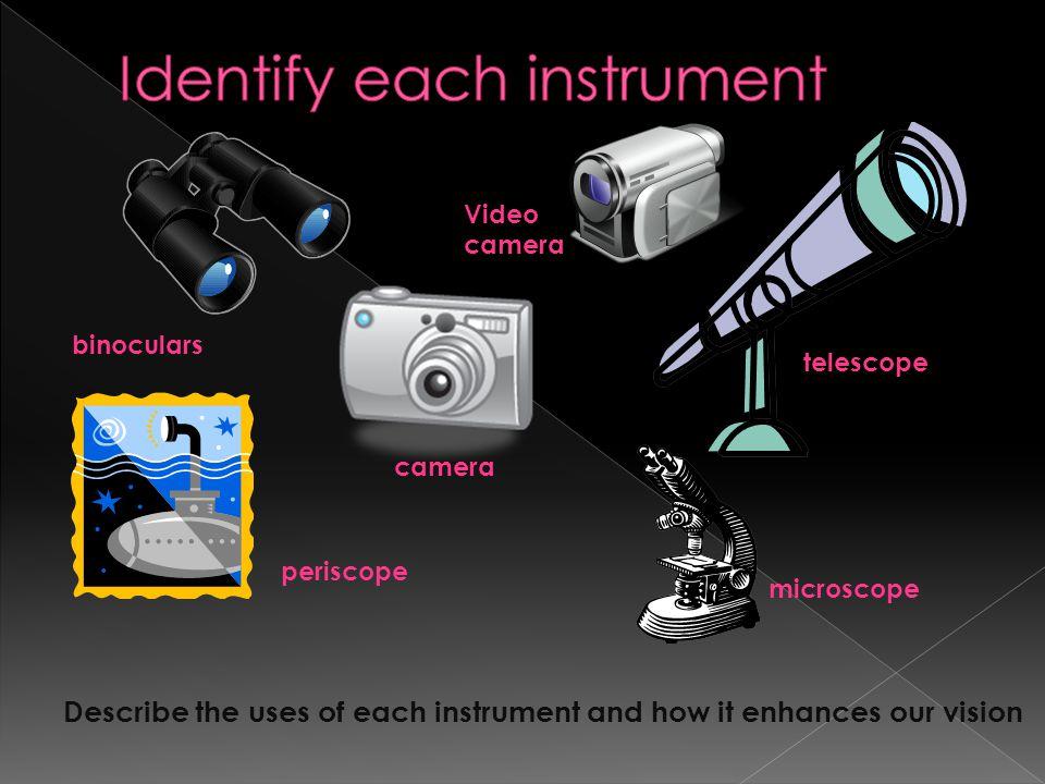 Identify each instrument