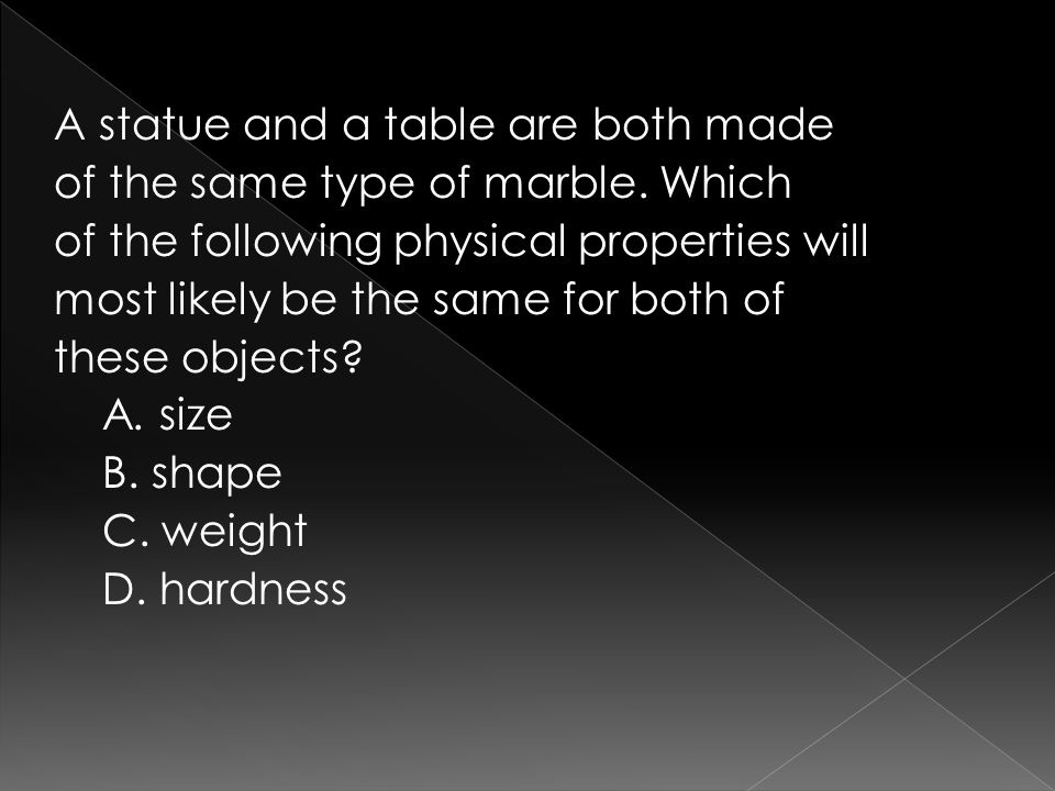 A statue and a table are both made of the same type of marble