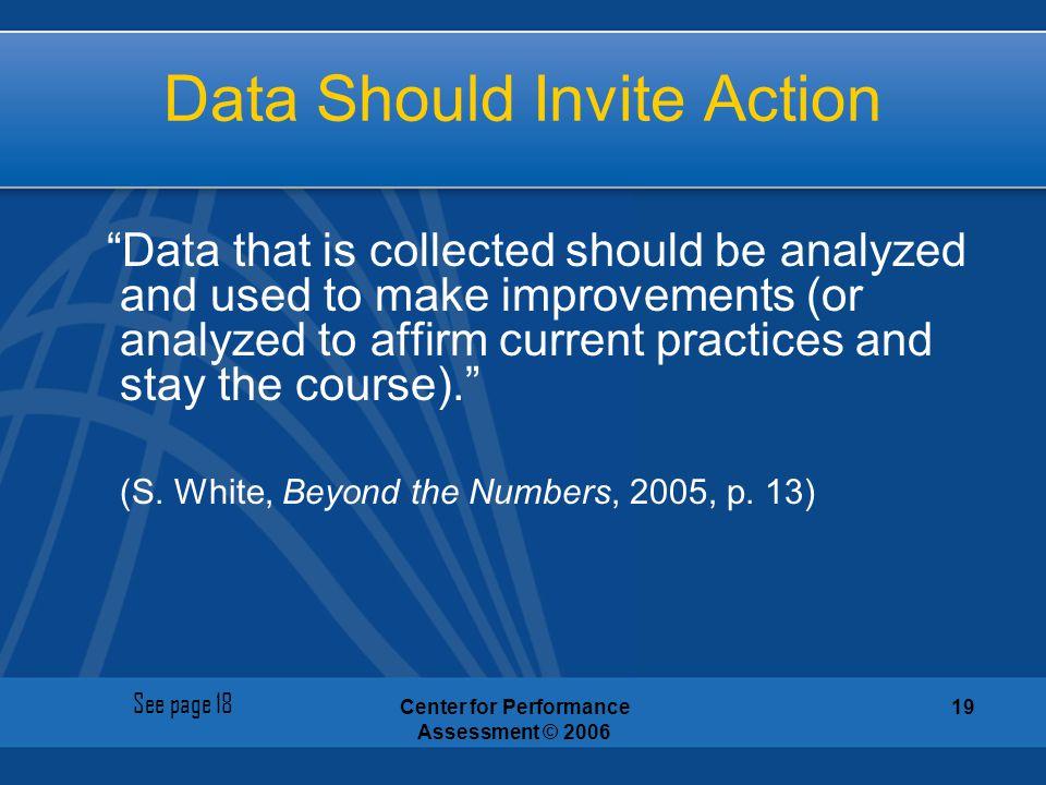 Data Should Invite Action