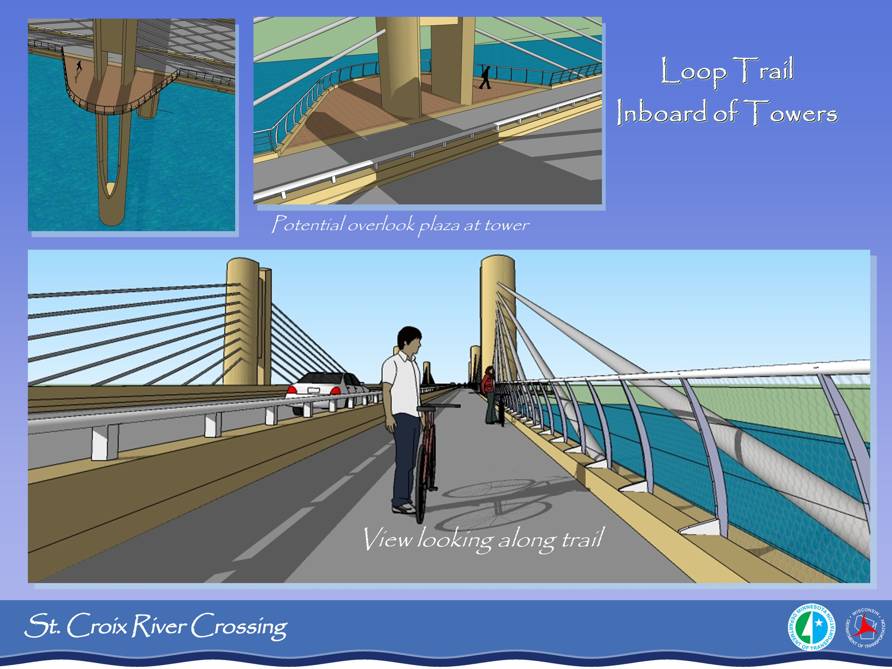 Loop Trail Inboard of Towers