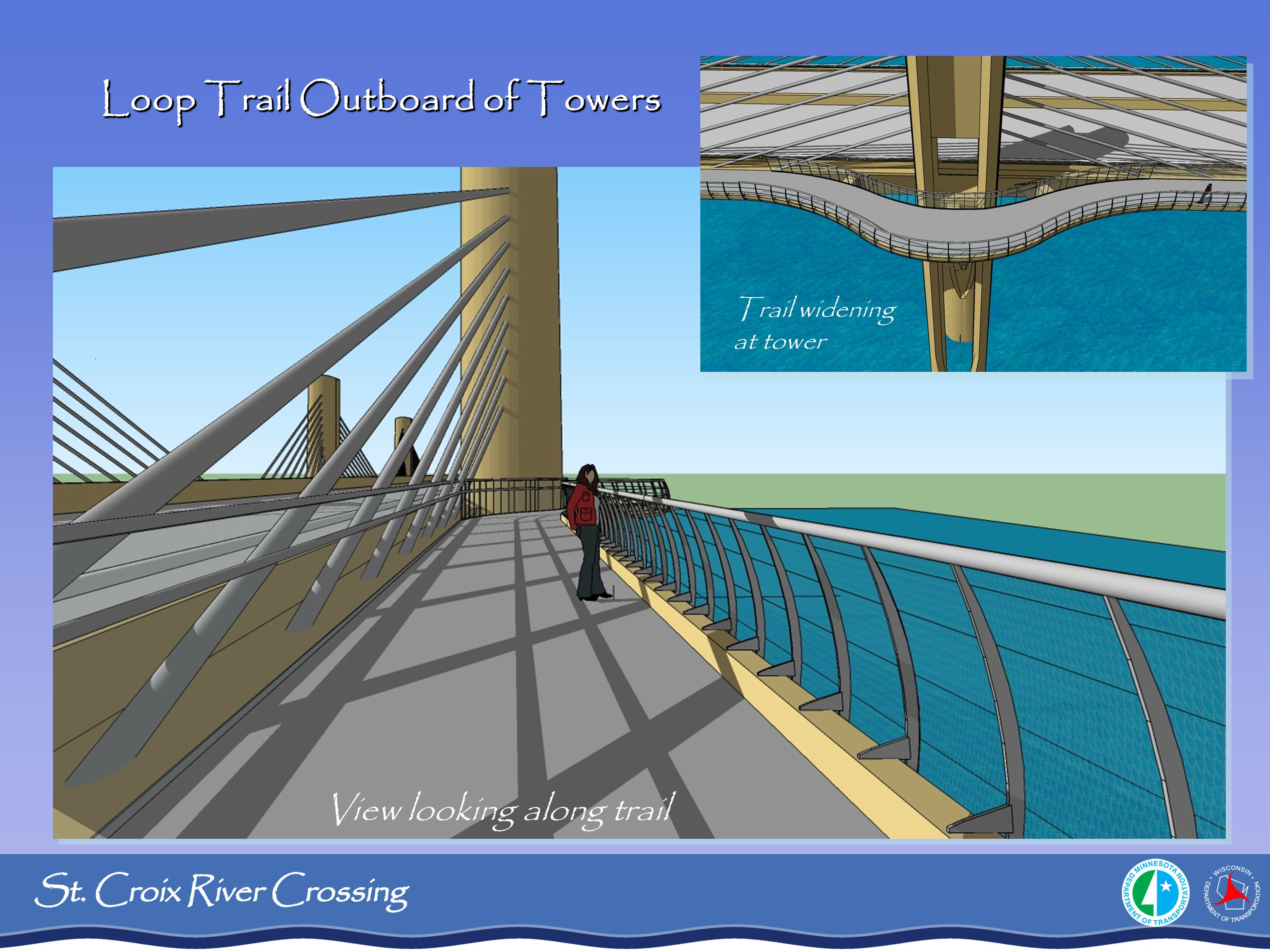 Loop Trail Outboard of Towers