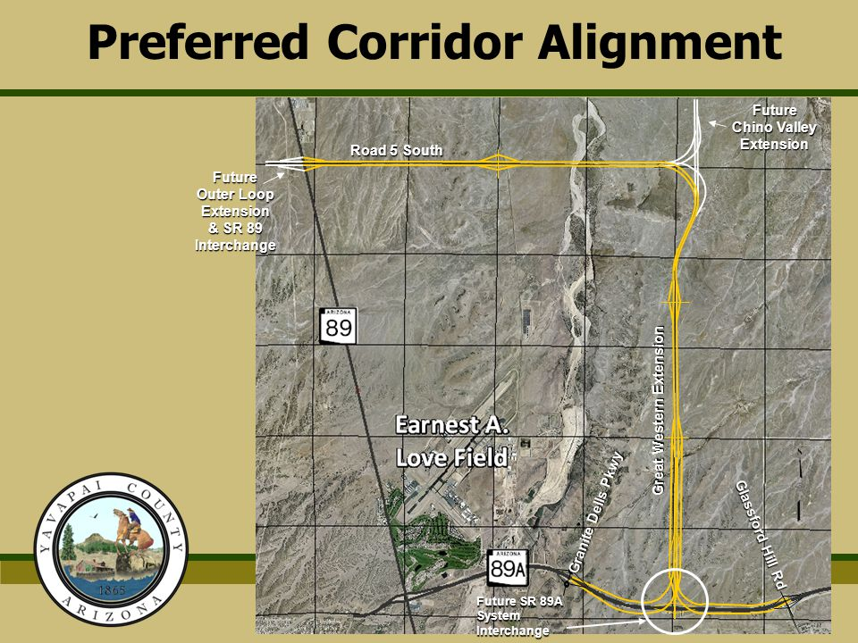 Preferred Corridor Alignment