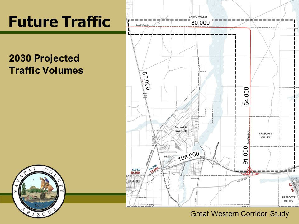2030 Projected Traffic Volumes