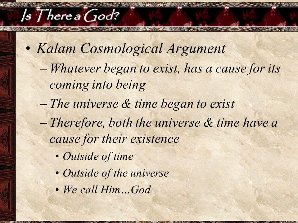 Kalam Cosmological Argument