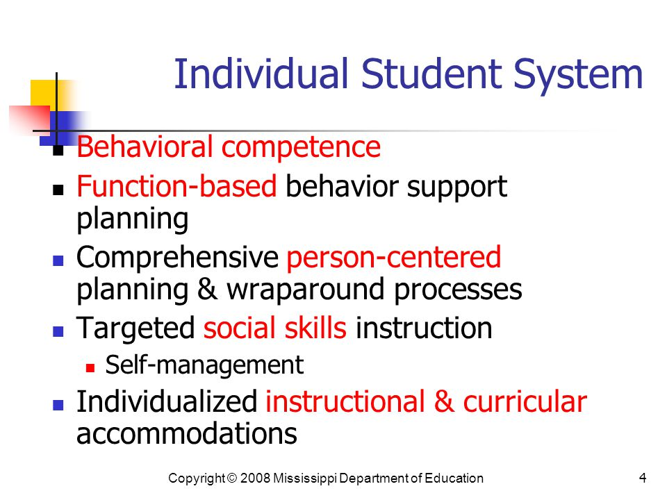 Individual Student System