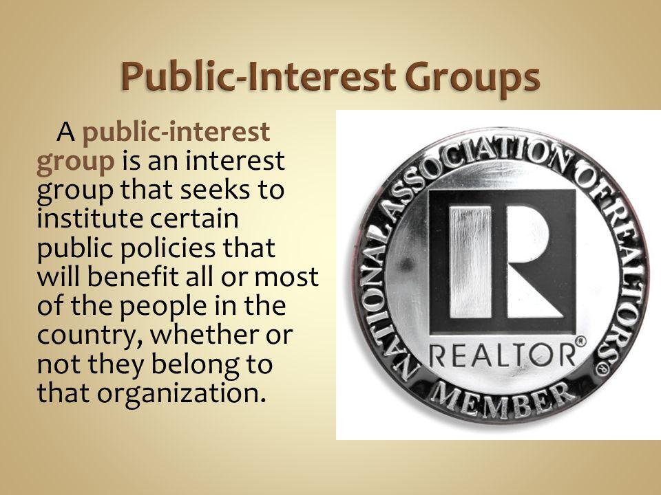 Public-Interest Groups