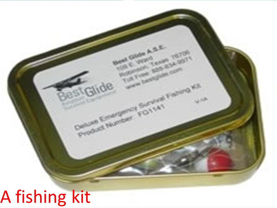 A fishing kit