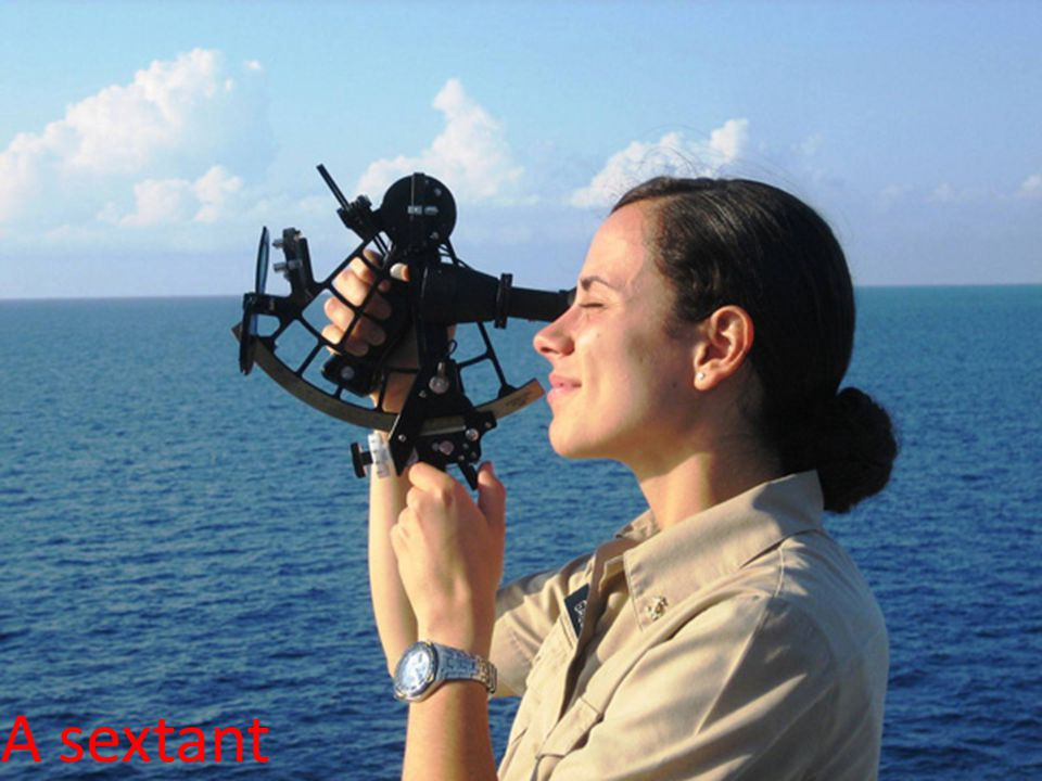 A sextant